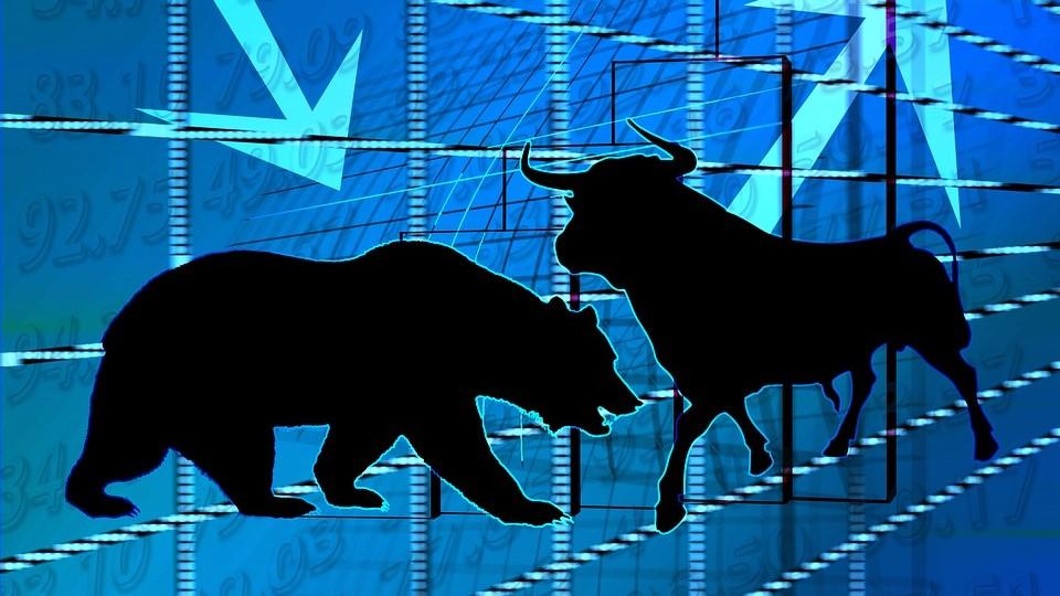 शेयर मार्केट धड़ाम