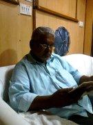 मुझसे शाम के समय मिलने आये श्री विष्णु बैरागी जी।