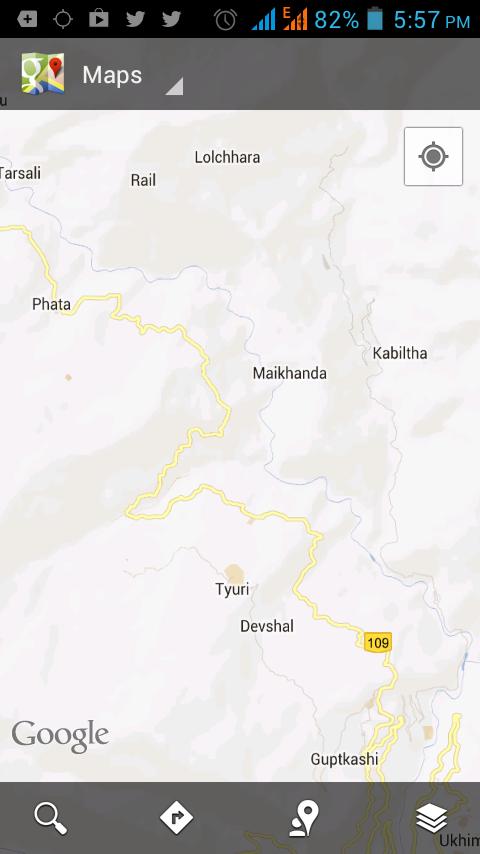 Phata Rail; Guptkashi
