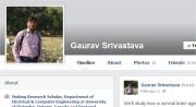 गौरव का फ़ेसबुक स्नैपशॉट