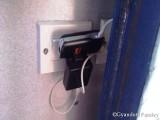 स्लीपर कोच में बैटरी चार्जिंग सुविधा।