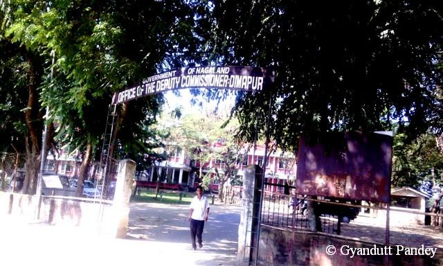 नागालैण्ड के डिप्युटी कमिश्नर का दफ़्तर दीमापुर में।