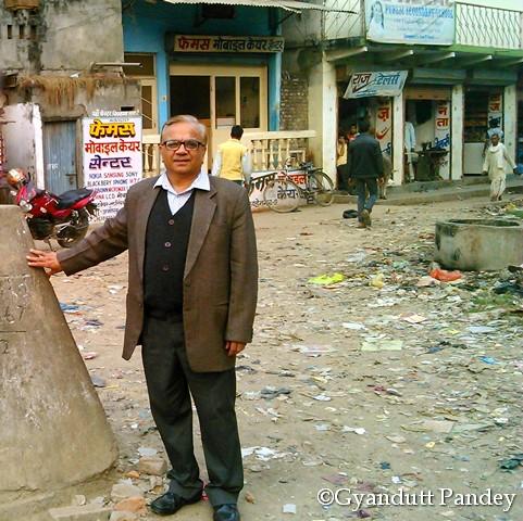 नेपाल-भारत के बीच नो-मैंस लैण्ड का यह क्षेत्र।