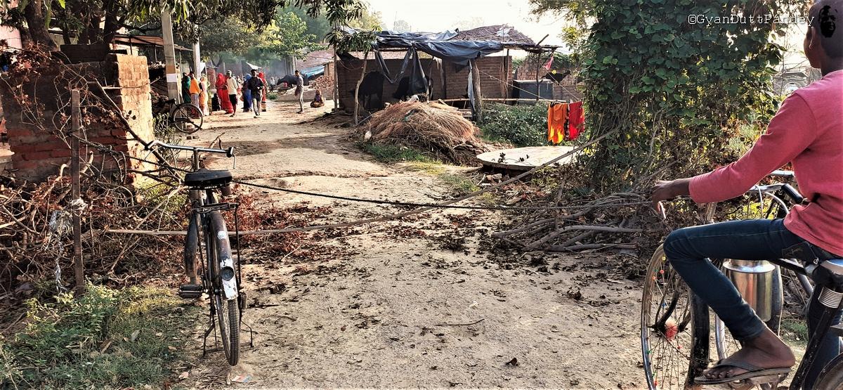 गांवदेहात में नजदीक आता कोरोनावायरस और बढ़तातनाव