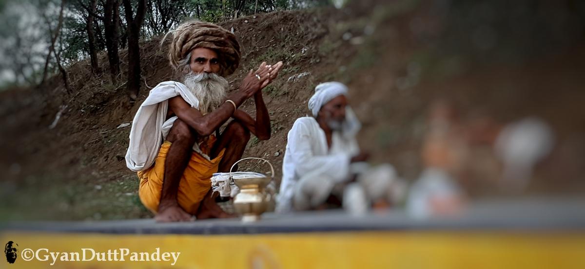 अंगद दास त्यागी, लम्बी जटाओं वाला साधू #गांवकाचिठ्ठा#ग्रामचरित