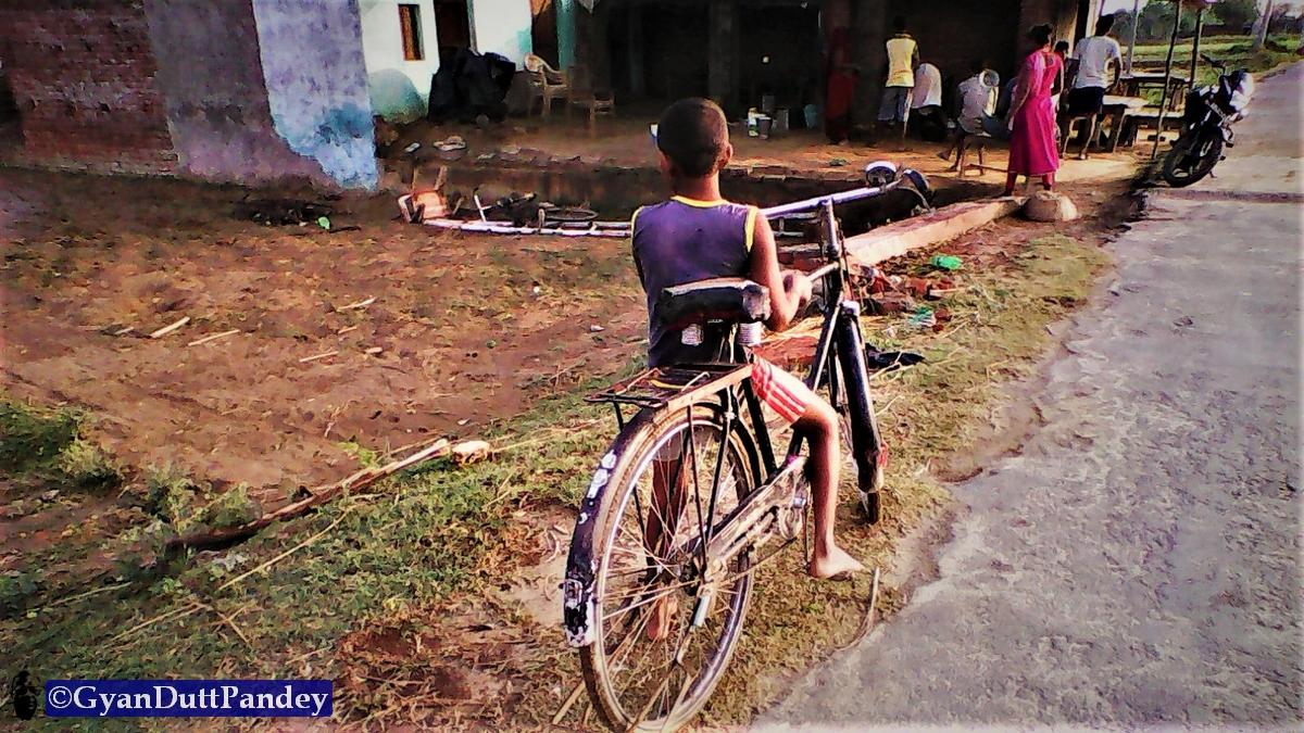 कैंची सीखना #गांवकाचिठ्ठा