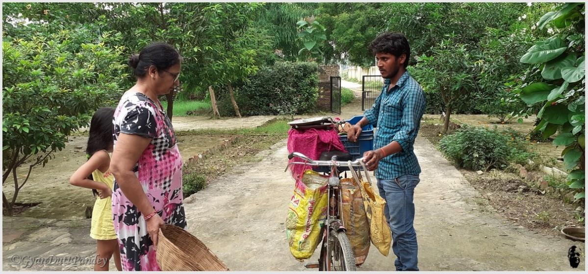 राजधर – साइकिल परसब्जी