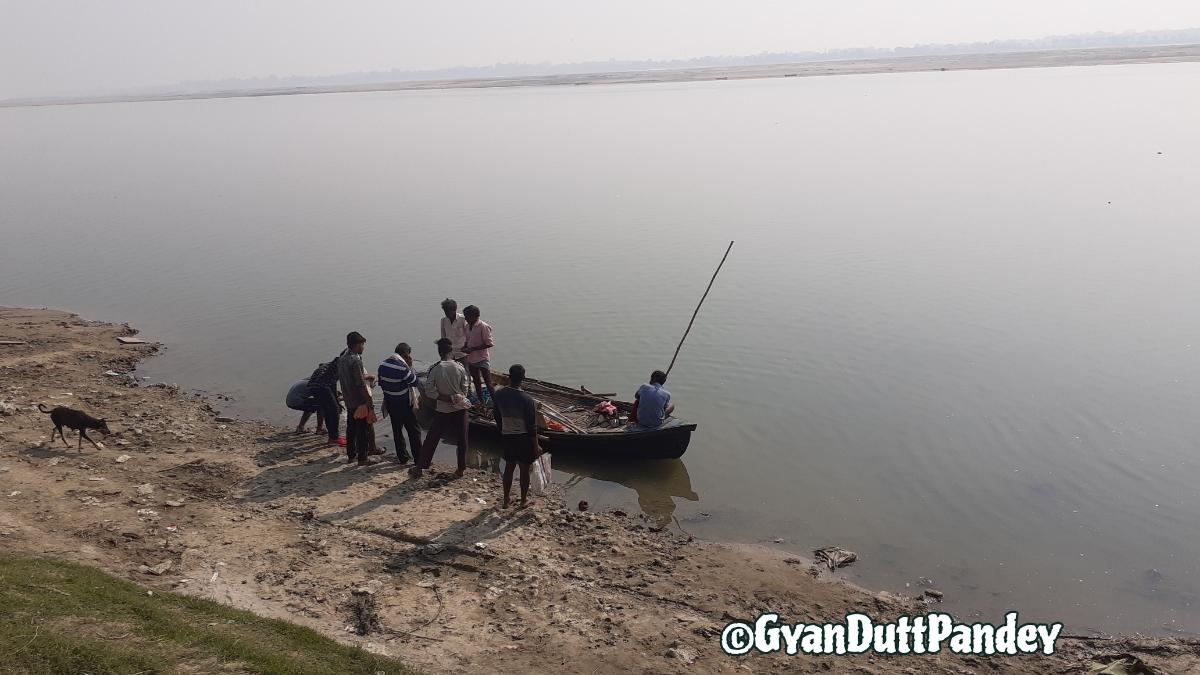 #रागदरबारी लाइव; गंगा तट पर मछली खरीद केसंवाद