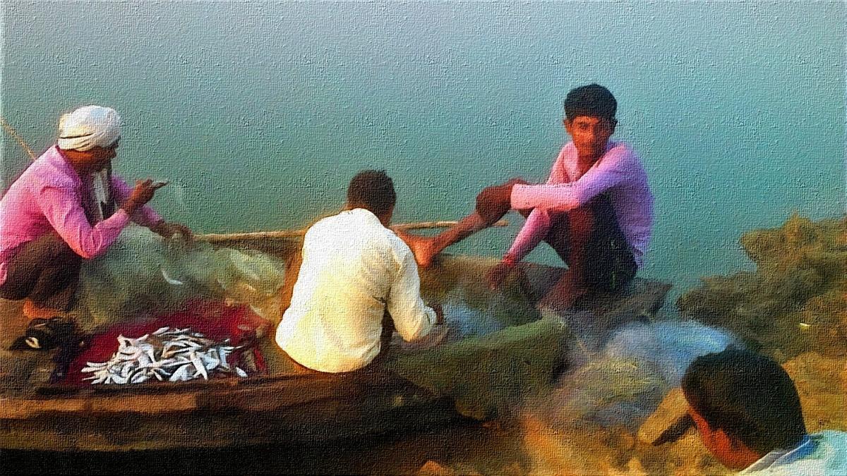 विष्णु मल्लाह – बैकर मछरी पकड़ेबा!