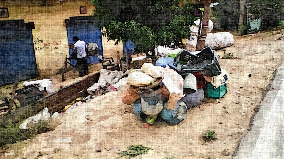 कबाड़ कलेक्शन केंद्र
